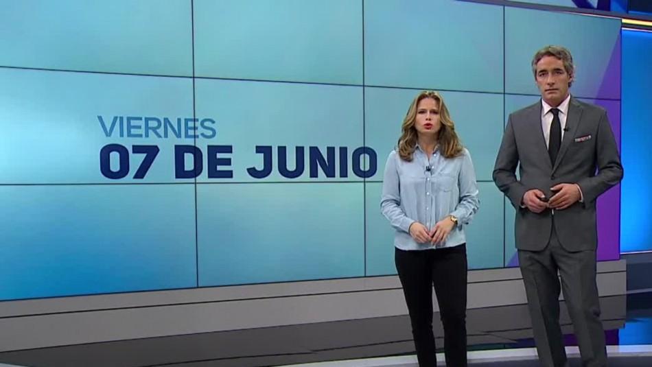 Ahora Noticias Central 7 de junio