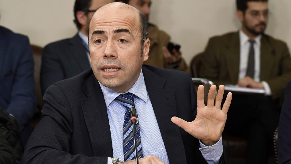 El contralor Jorge Bermúdez. / AgenciaUno