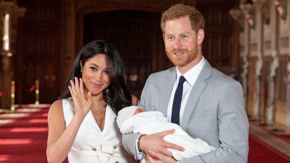 Meghan Markle y el príncipe Harry / Agencia AFP