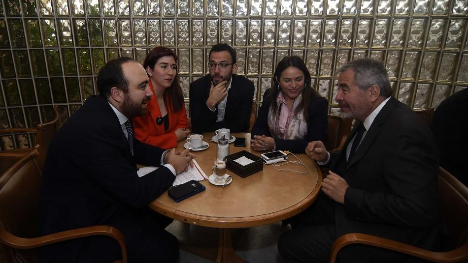 Fuad Chahín sostuvo una ronda de reuniones por cambios en el sistema electoral