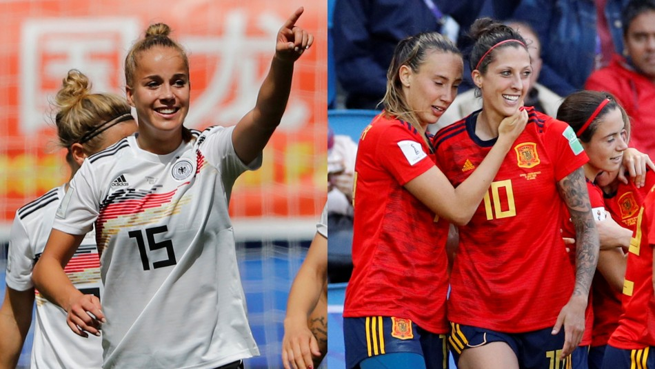 Alemania vs. España / Reuters