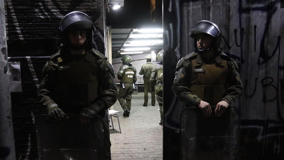Realizan desalojo fantasma del Instituto Nacional tras orden del alcalde Alessandri