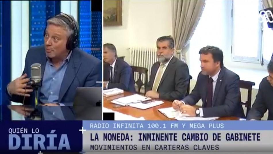 Radio Infinita: Inminente cambio de gabinete en La Moneda