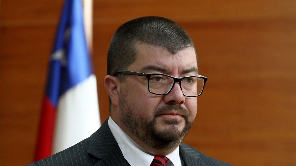 Jorge Abbott confirma suspensión del fiscal Moya por sumario administrativo