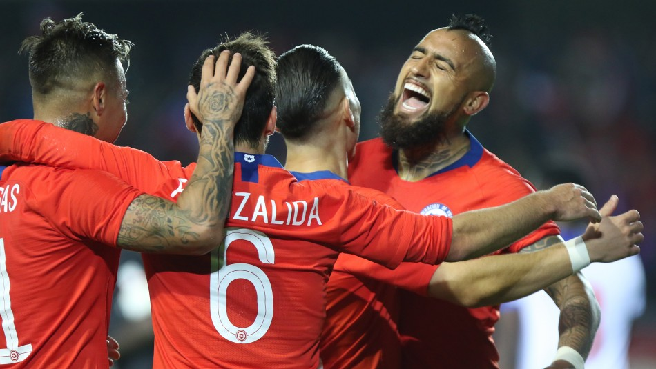 Selección Chilena / Agencia Uno