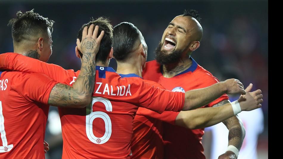 La Roja debuta en Copa América. / Agencia Uno