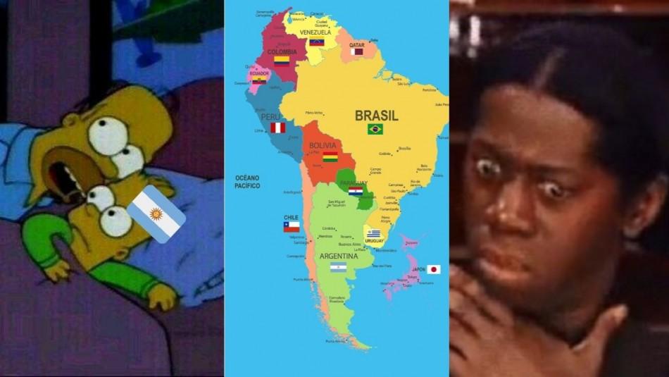 Los memes del duelo Paraguay-Catar. / Captura