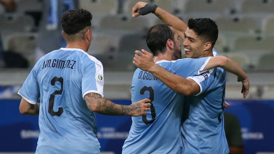 Uruguay venció a Ecuador / Reuters.