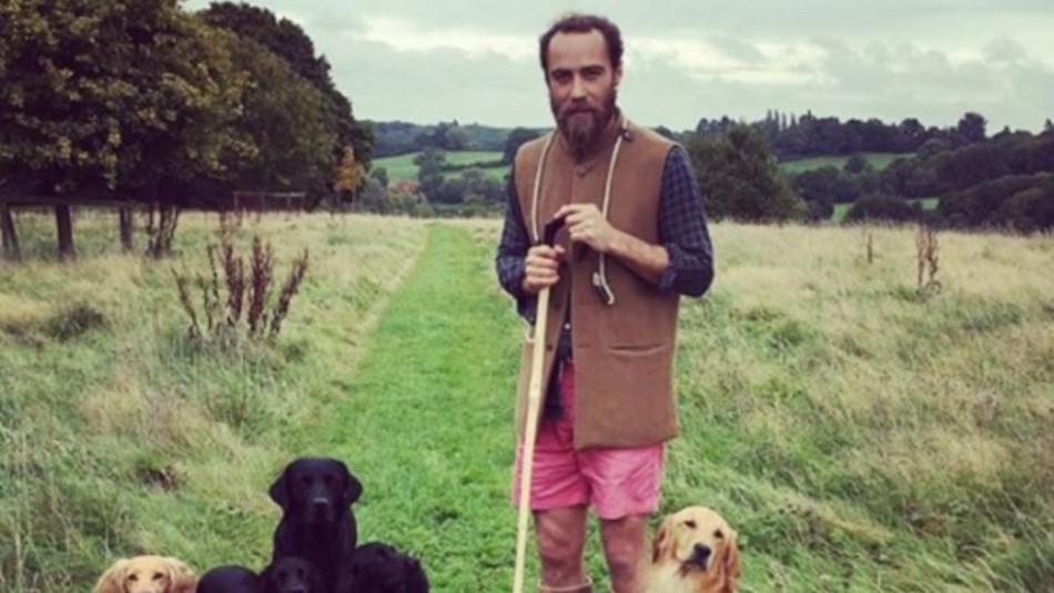 El hermano de Kate Middleton es un aventurero amante de los perros