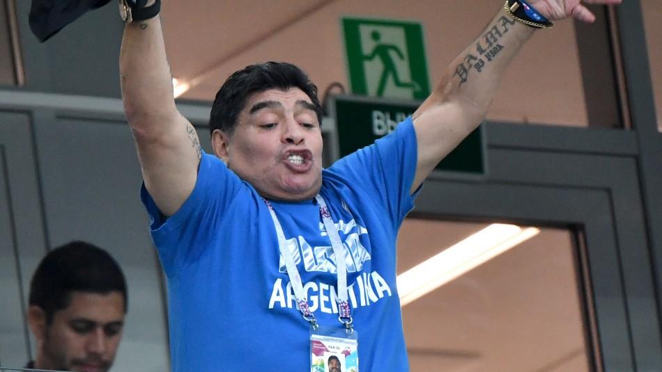 Diego Maradona / Agencia Uno