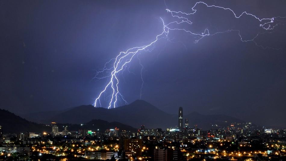 Mantienen alerta por bajas temperaturas y posibles tormentas eléctricas desde Coquimbo al Maule / Agencia UNO.