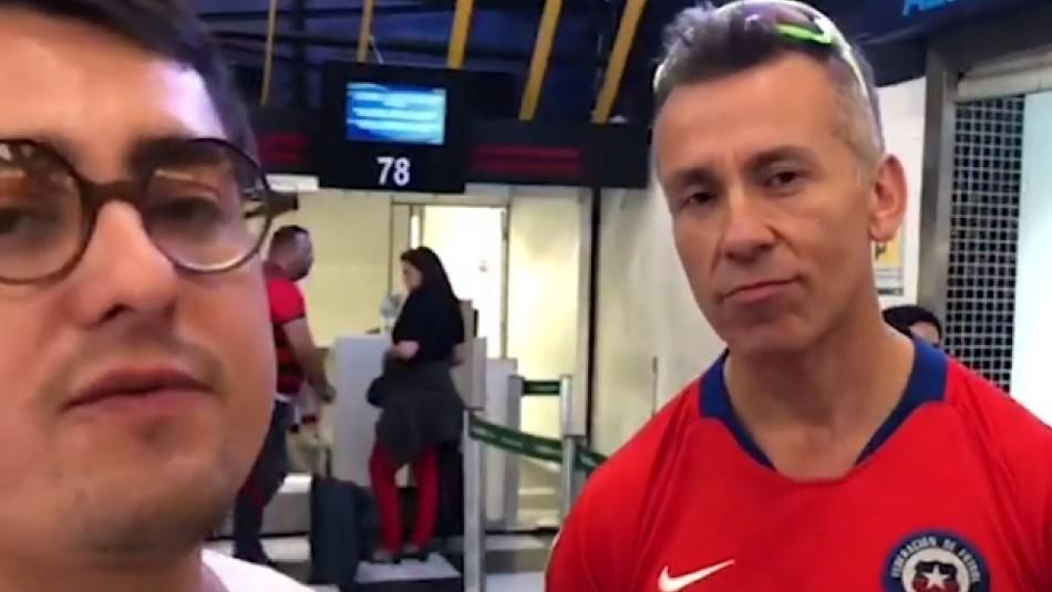 Más de 100 hinchas chilenos quedan varados en aeropuerto de Sao Paulo