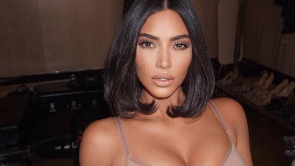 [FOTO] La tierna imagen de Kim Kardashian junto a sus hijos Psalm y Saint West