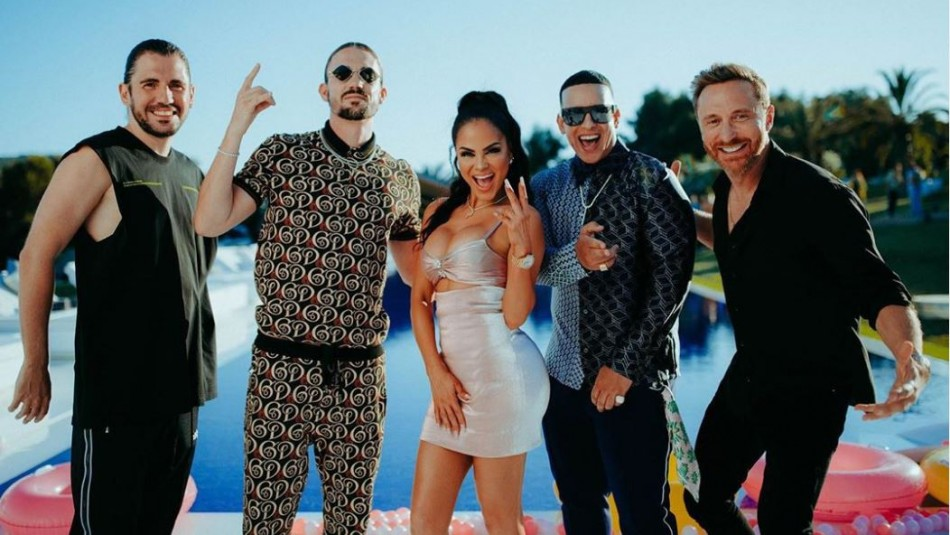 Daddy Yankee anuncia colaboración con Natti Natasha, David Guetta, y Dimitri Vegas