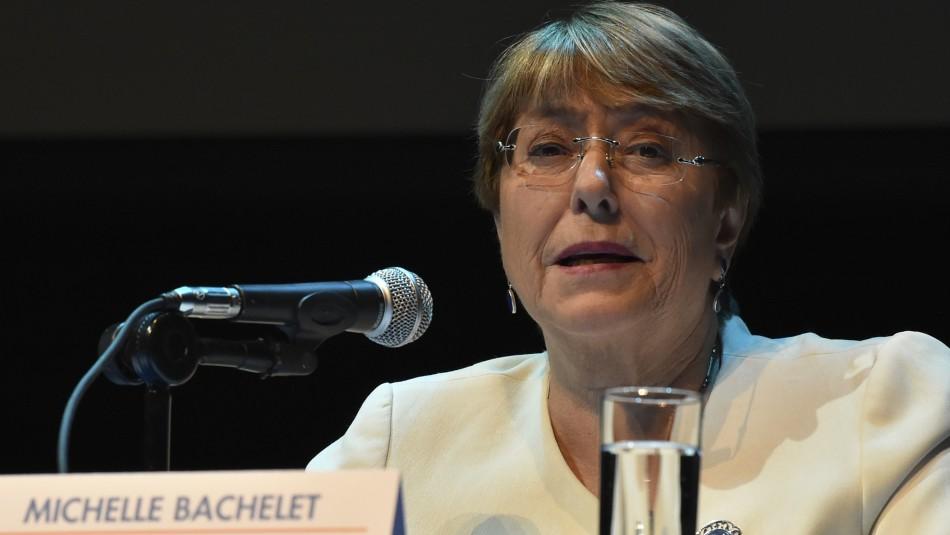 Michelle Bachelet / AFP.