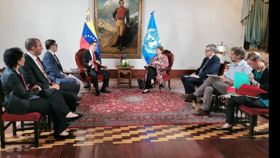 ONU informa que Michelle Bachelet ya está en Venezuela