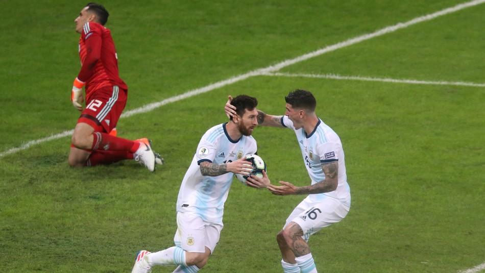 Messi anotó para Argentina. / Reuters