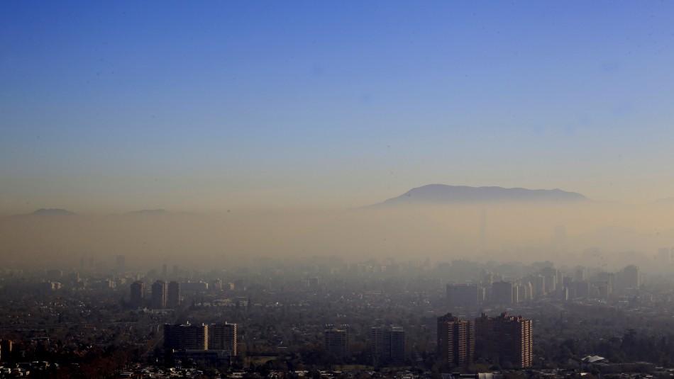 Declaran Preemergencia Ambiental para este jueves en la Región Metropolitana / Agencia UNO.
