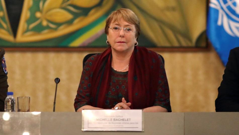 ¡Mira para acá!: Protestas marcan segunda jornada de visita de Bachelet a Venezuela