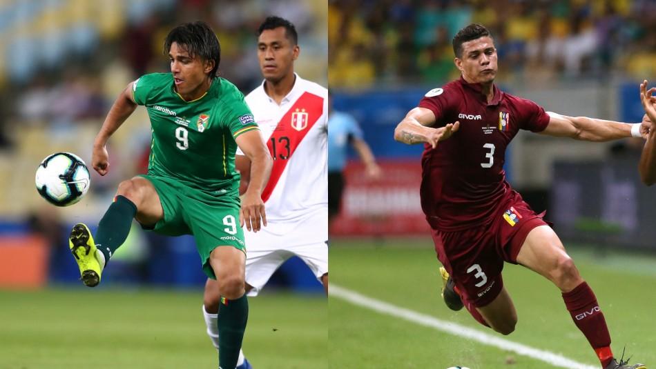 Bolivia vs. Venezuela / Reuters
