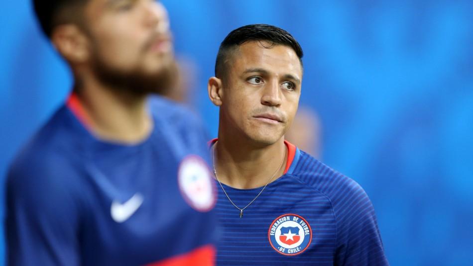 Alexis Sánchez salió lesionado / Reuters.