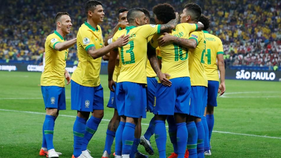 Brasil es el primer semifinalista. / Reuters