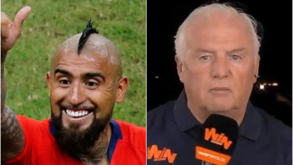 ¿Se acuerdan de Fernando Niembro? Llenó de elogios a Arturo Vidal por su juego en Copa América