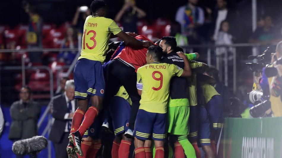 Colombia juega ante Paraguay clasificada. / Reuters