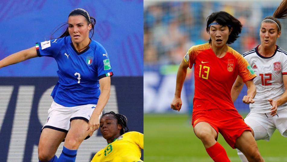 Italia vs. China / Reuters