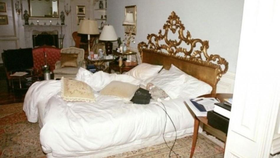 Fotos inéditas del dormitorio de Michael Jackson: Hasta una muñeca de porcelana de cabellos rubios