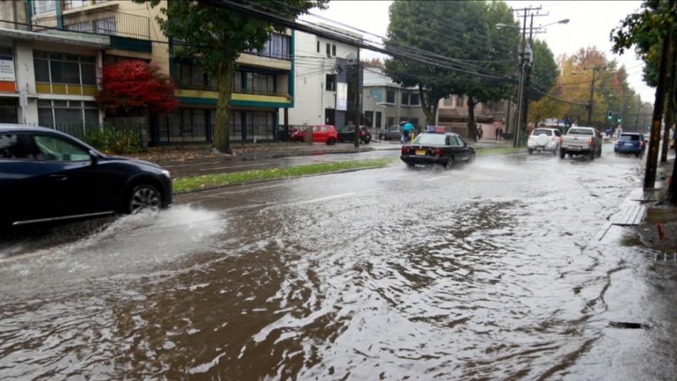 Se mantienen las lluvias en Concepción: Revisa el pronóstico del tiempo para los próximos días