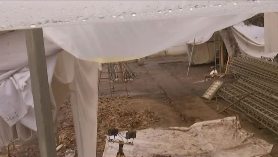[VIDEO] Sin paredes ni techo: Así es la bodega donde se encontraron a Fernanda Maciel