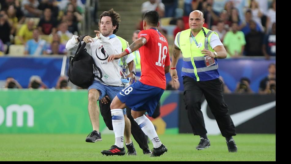 Gonzalo Jara en la mira en Copa América. / Agencia Uno