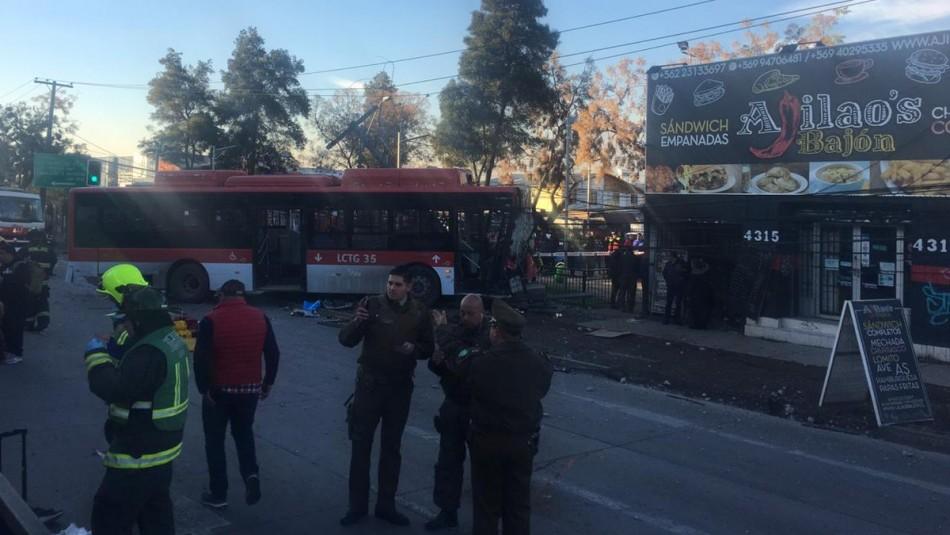 Imagen del accidente / Twitter @bayron_lopez01
