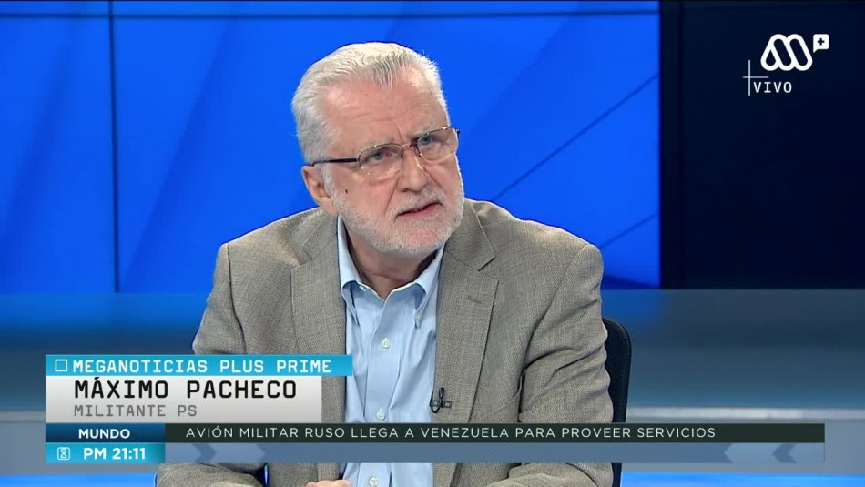 Máximo Pacheco y problemas en el PS: