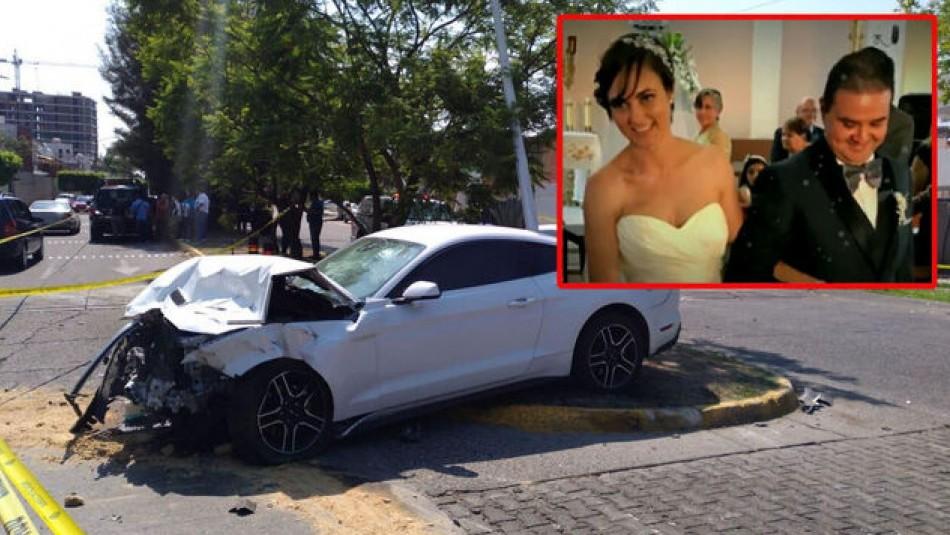 Pareja de recién casados muere en un accidente ocasionado por un futbolista ebrio