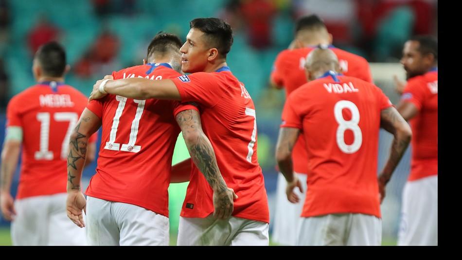 La Roja choca el viernes con Colombia. / Agencia Uno