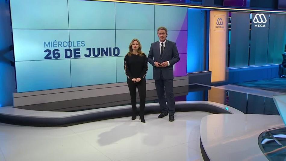 Ahora Noticias Central 26 de junio