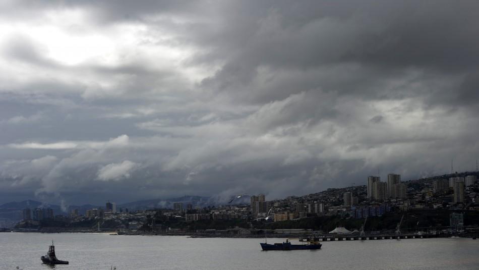 Valparaíso se mantiene nublado: Revisa el pronóstico del tiempo para los próximos días