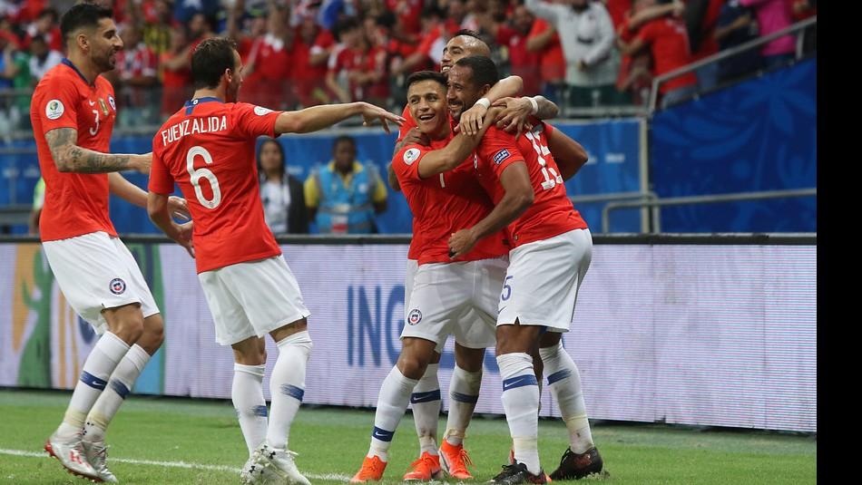 La Roja se ve las caras ante Colombia. / Agencia Uno