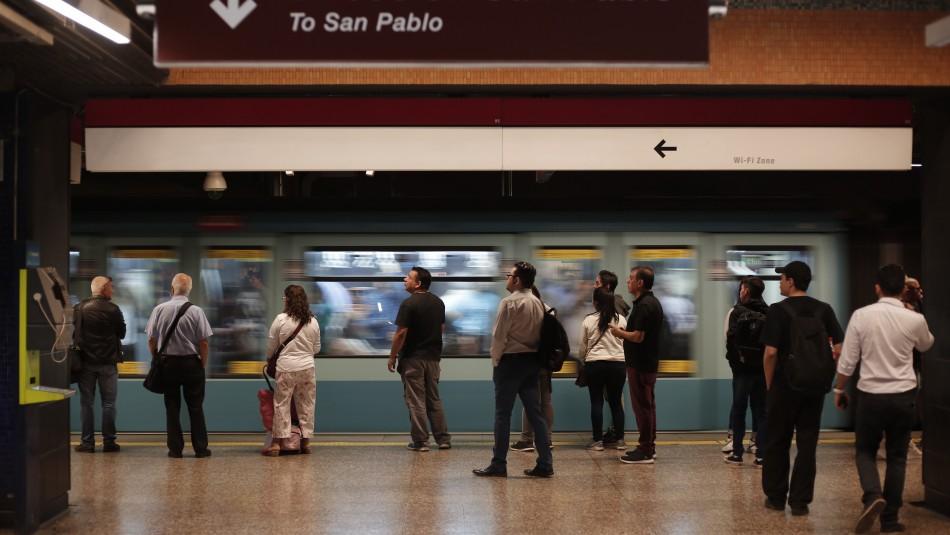 Revisa el horario de Metro este domingo