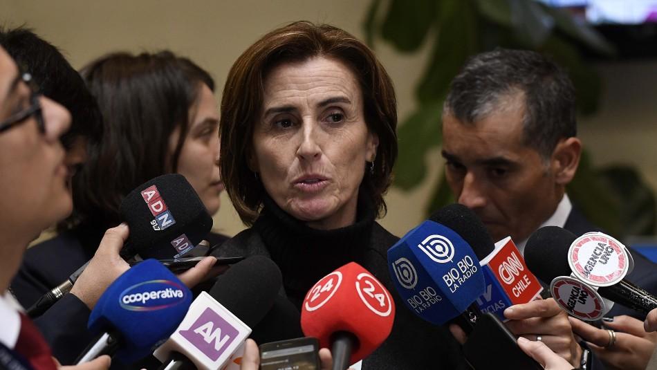 Marcela Cubillos. / AgenciaUno
