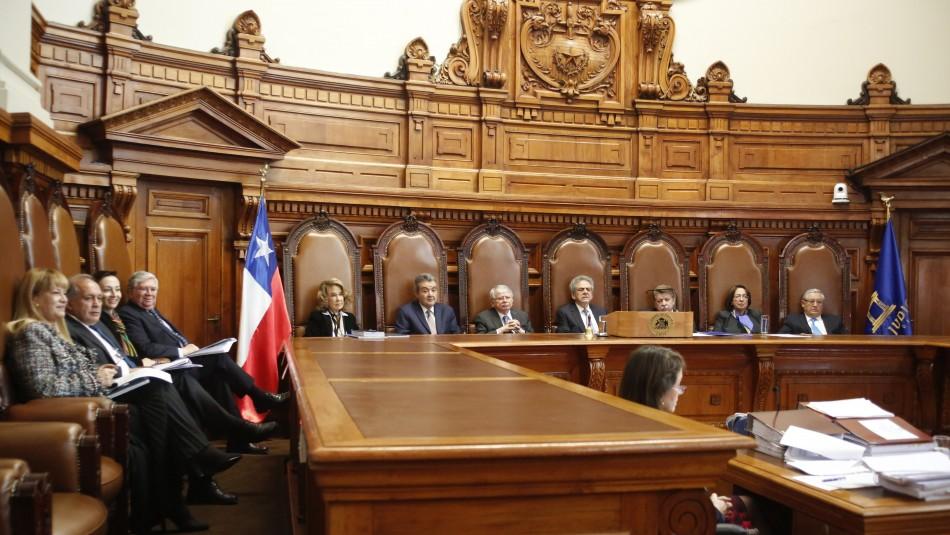 Corte Suprema abre proceso de remoción de jueces de Rancagua Elgueta, Albornoz y Vásquez