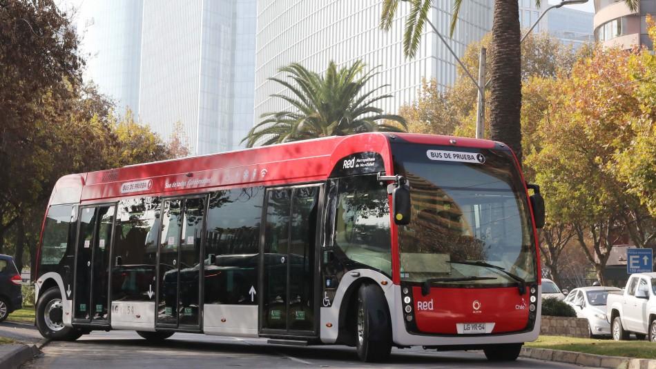 Así es un recorrido a bordo del bus eléctrico