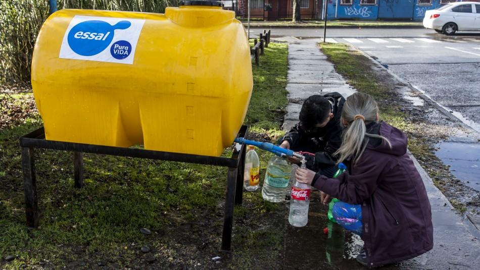 SISS por continuidad del corte de agua en Osorno: