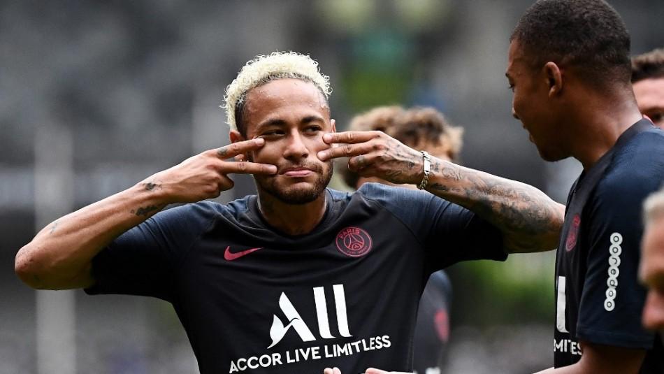 Neymar en la mira del Real Madrid.