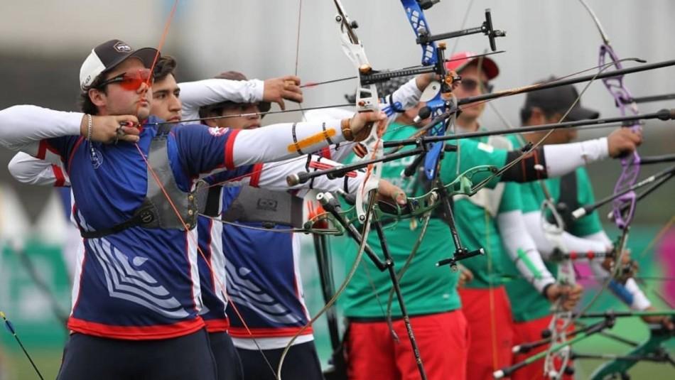 Histórico: Chile rompe récord de medallas en Panamericanos con plata de tiro con arco