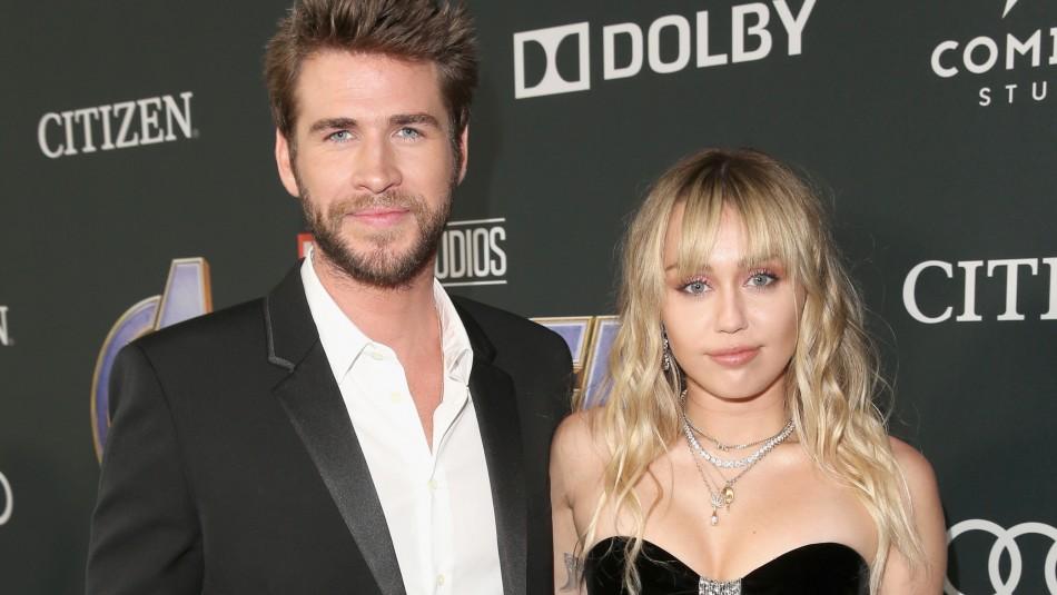 Liam Hemsworth rompe el silencio tras quiebre con Miley:
