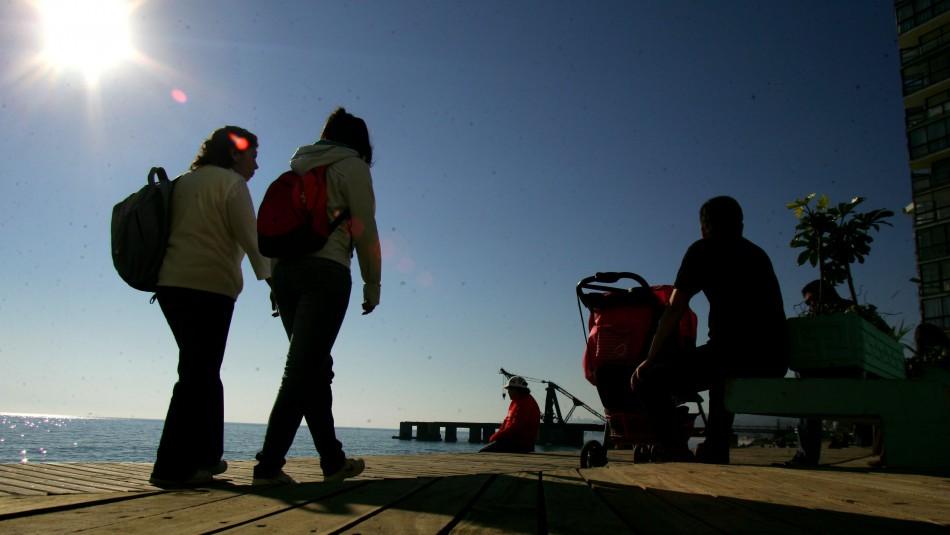 Valparaíso despejado y con viento: Revisa el pronóstico del tiempo