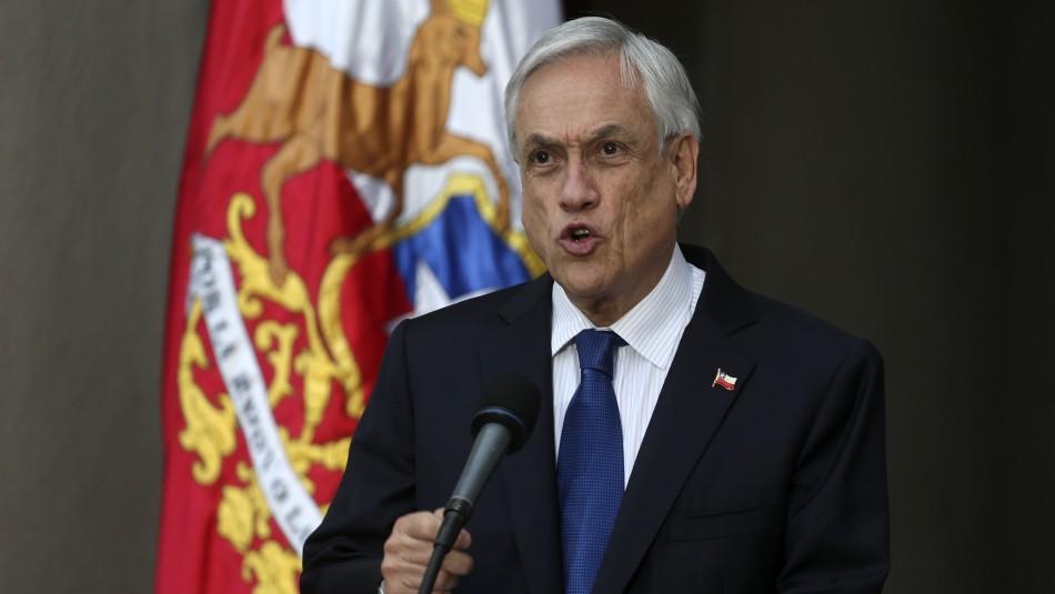 Sebastián Piñera por desplome de bolsa argentina: